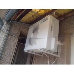 Снимки от монтаж на инверторен климатик DAIKIN FTXN50L9/RXN50L9 ECO COMFORT